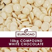 additional image for White Compound Chocolate 10kg