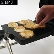 additional image for Multi Waffle Plate - Biscuit