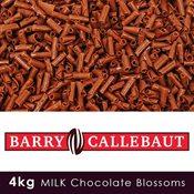 additional image for Barry Callebaut - Milk Chocolate Blossoms - 4kg Case