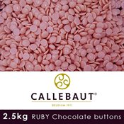 additional image for Barry Callebaut Ruby Chocolate 2.5 kg