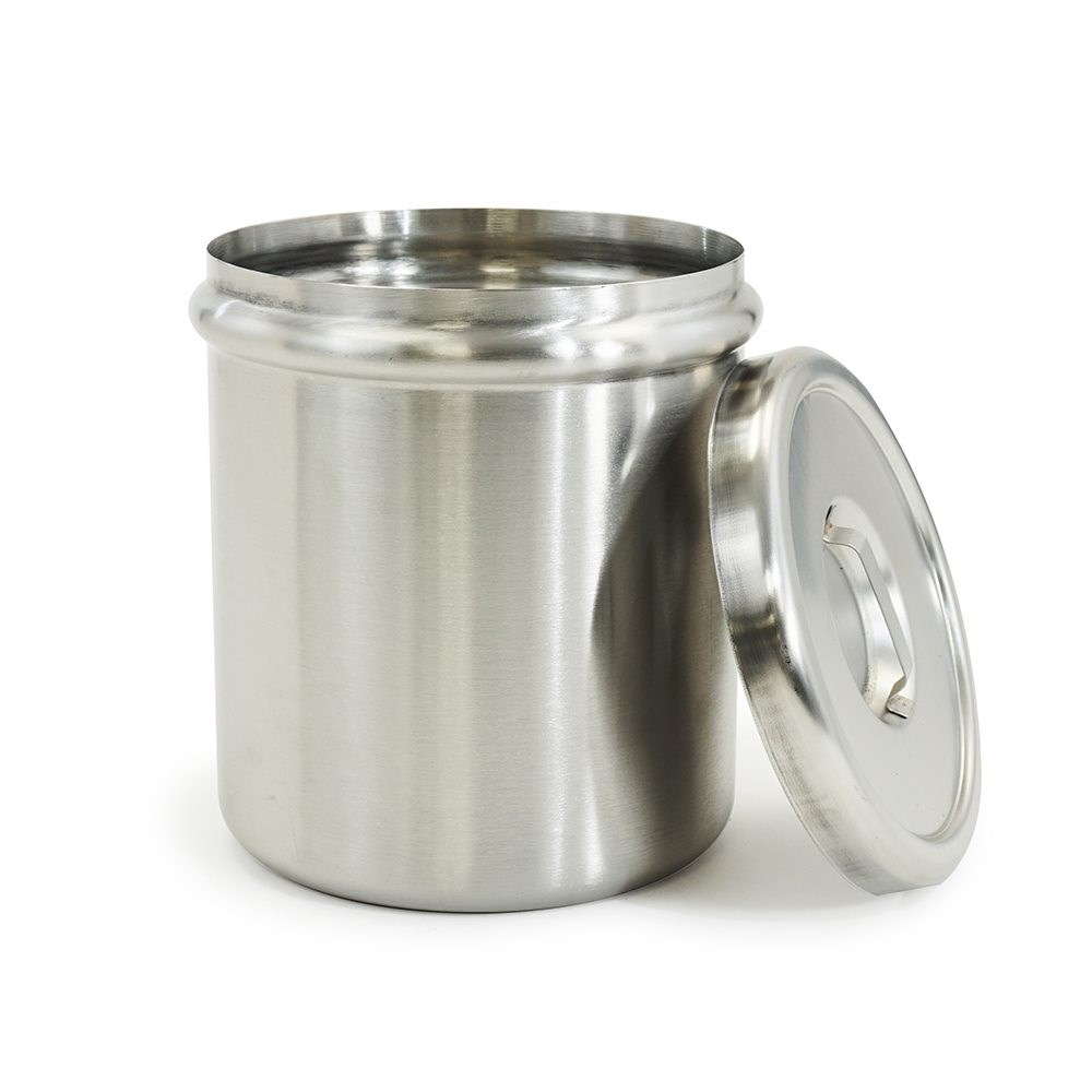 Stainless Steel Insert Jar and Lid for Pump Dispenser