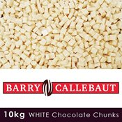 additional image for Barry Callebaut - White Chocolate Chunks - 10kg Case