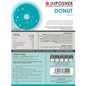 additional image for JM Posner Premium Donut Mix 12.5kg Bag