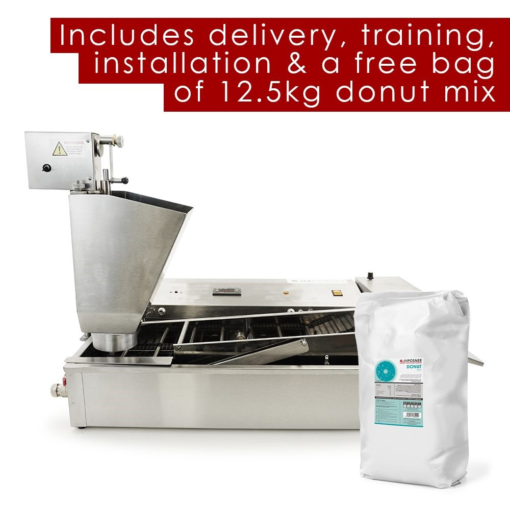 Professional 2 Lane Mini Ring Donut Maker