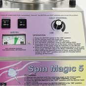 additional image for Spin Magic Cotton Candy Machine - with metal bowl