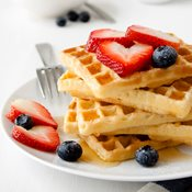 additional image for Finest Belgian style Waffle mix - 6 x 2.3kg Bags