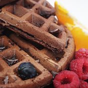 additional image for Chocolate Waffle Mix with added Chocolate Bursts - 1kg Bag