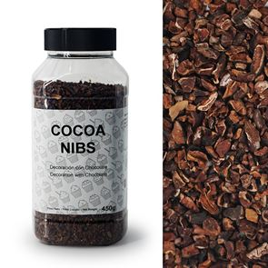 Cocoa Nibs Sprinkles - 450g Bottle
