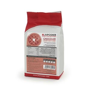 Chocolate Waffle Mix with added Chocolate Bursts - 1kg Bag