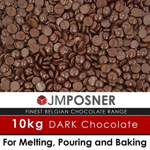Luxury Belgian Dark Chocolate - 10kg Bag