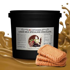 Liquid Milk Speculoos Chocolate - 6kg