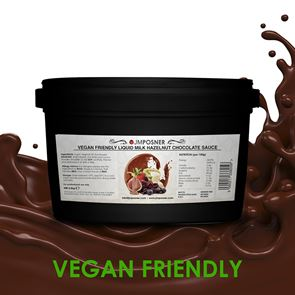 Liquid Vegan Milk Hazelnut Chocolate 3.5 kg