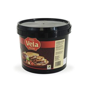 Milk Chocolate Hazelnut Spread - Vela - 6 kg