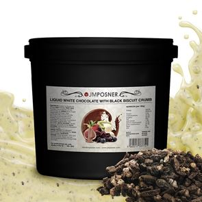 Liquid Cookies and Cream Chocolate - 6kg